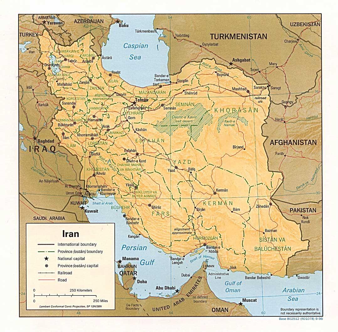 Iran Islamic Republic Maps Ecoi Net