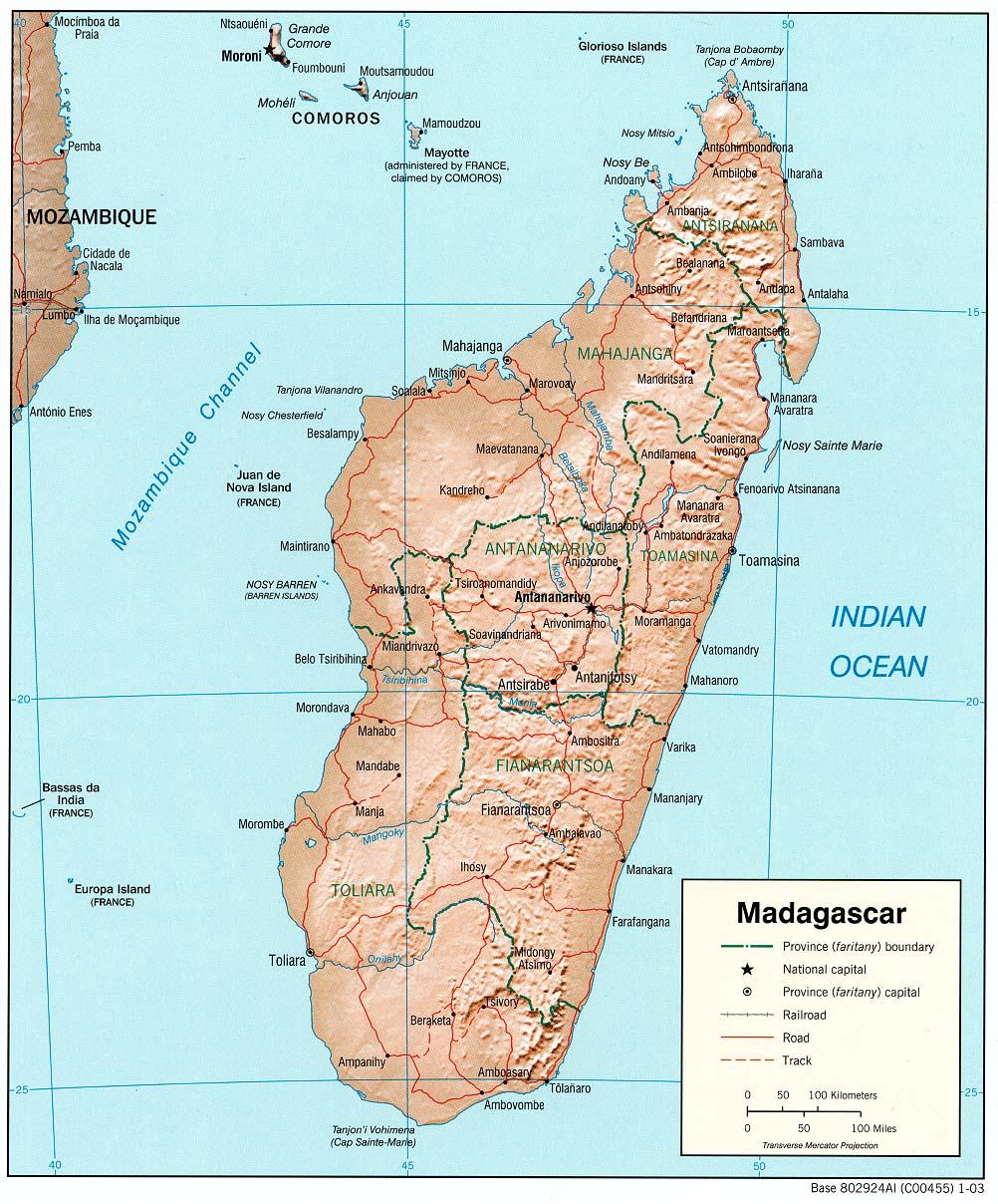 Where Is Madagascar Madagascar - Where is madagascar