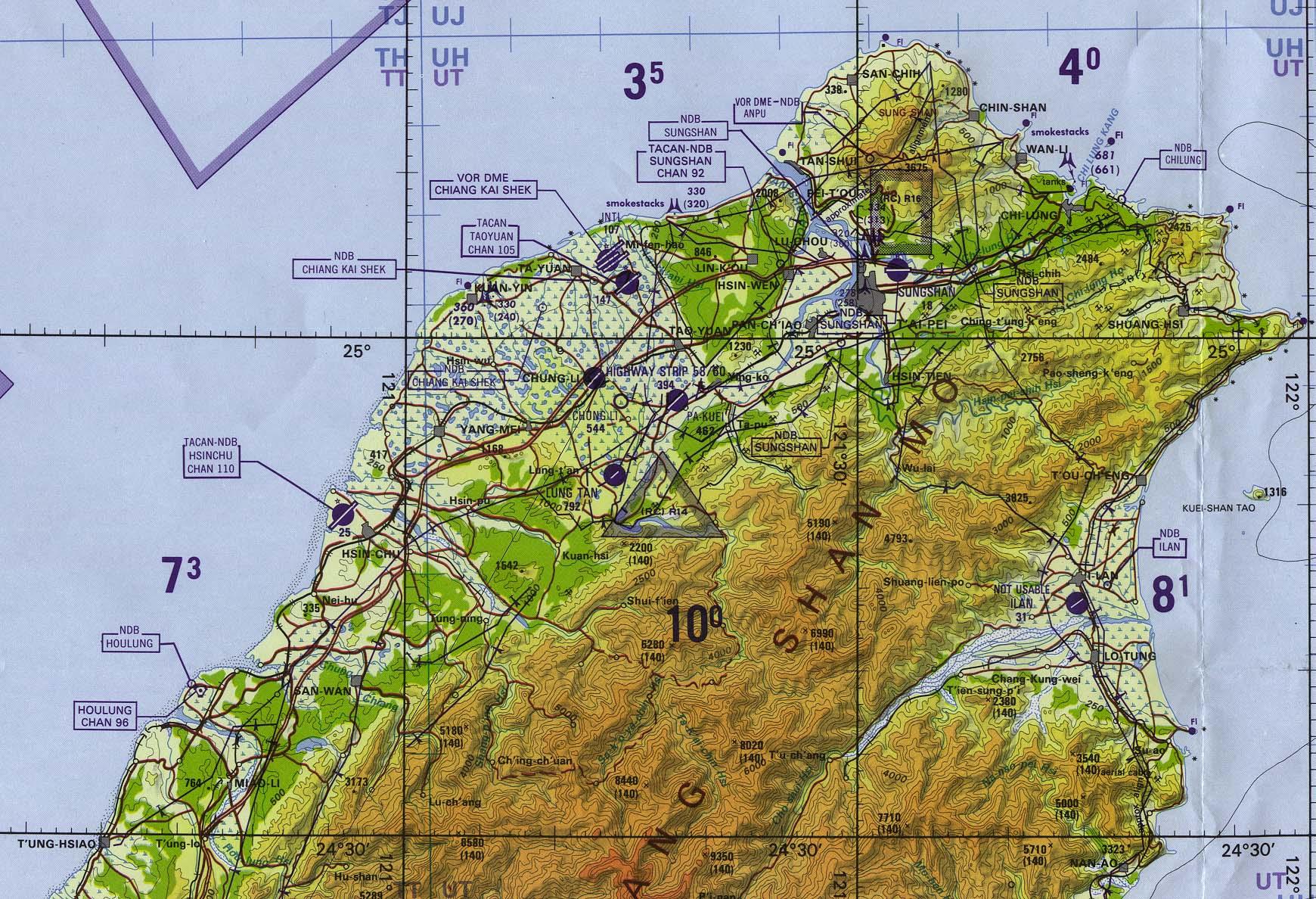 Map of Northern Taiwan Taiwan Maps