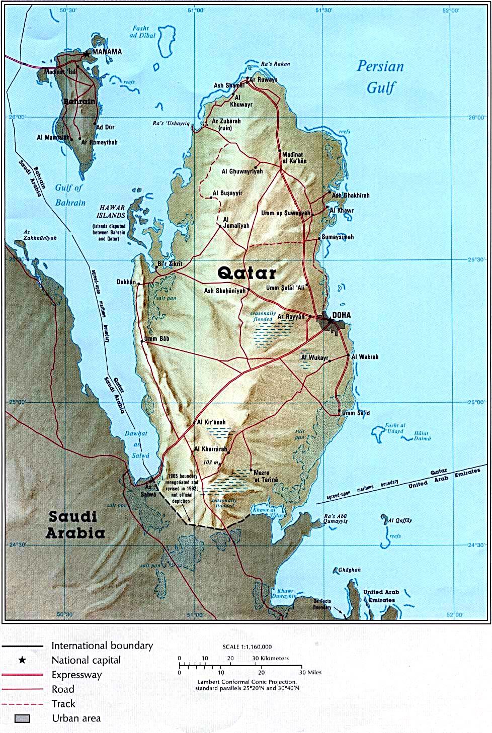 Qatar - Maps - ecoi.net
