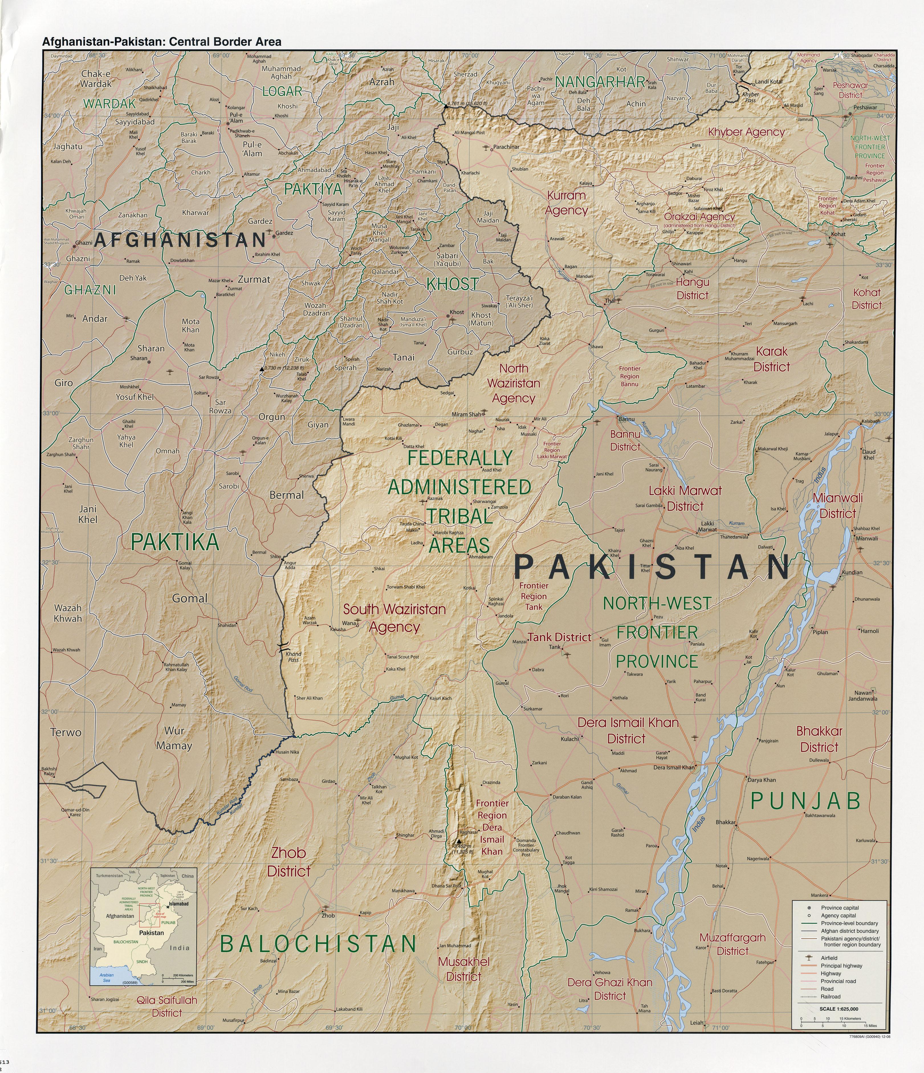 Afghanistan - Landkarten - ecoi.net