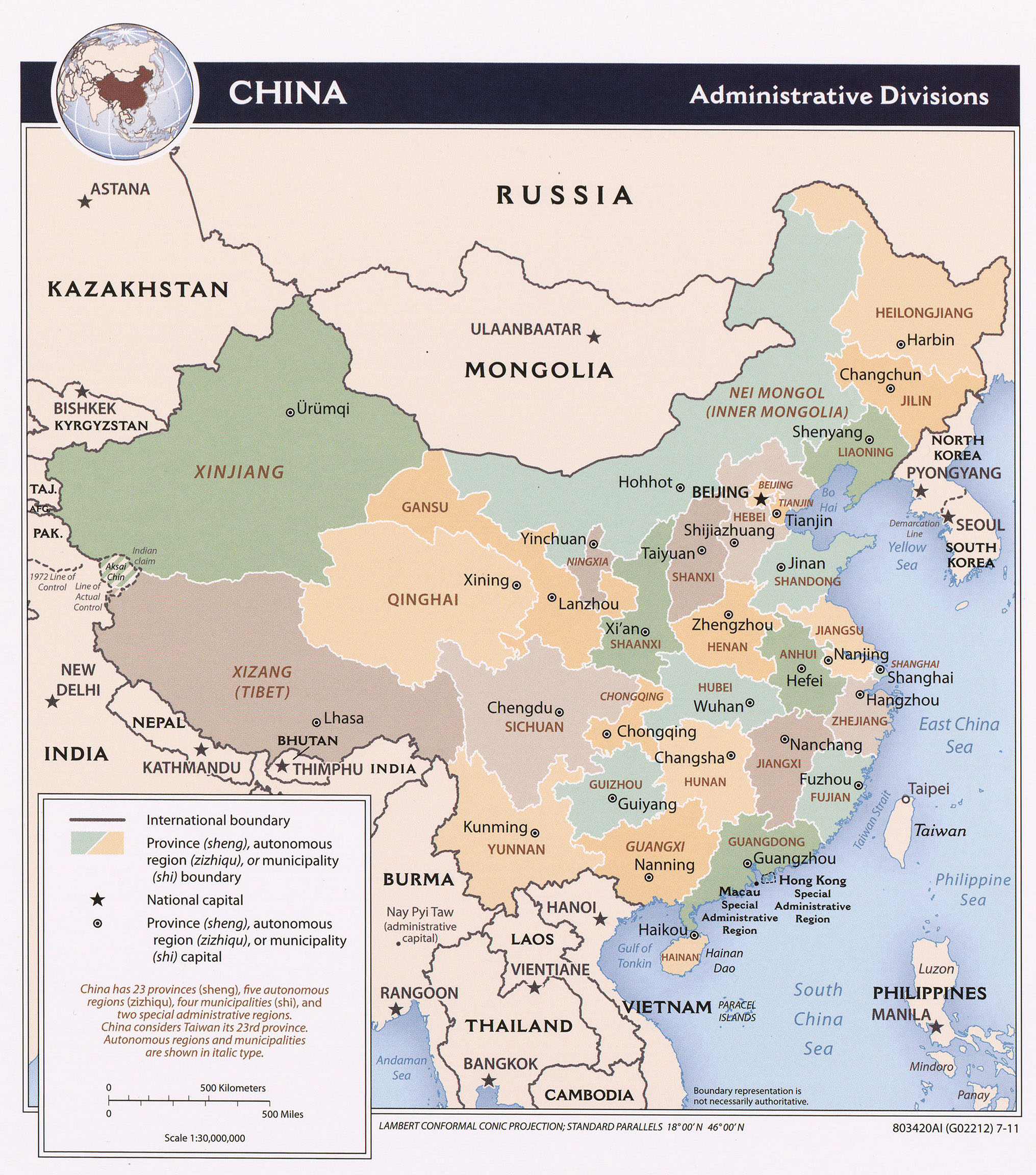 China Maps ecoinet