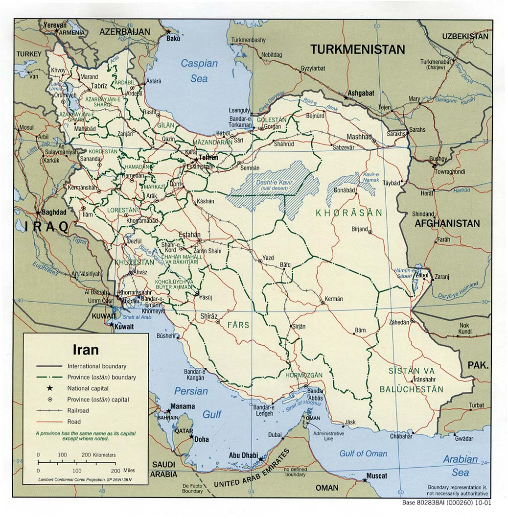 Image of: Iran Islamic Republic Maps Ecoi Net