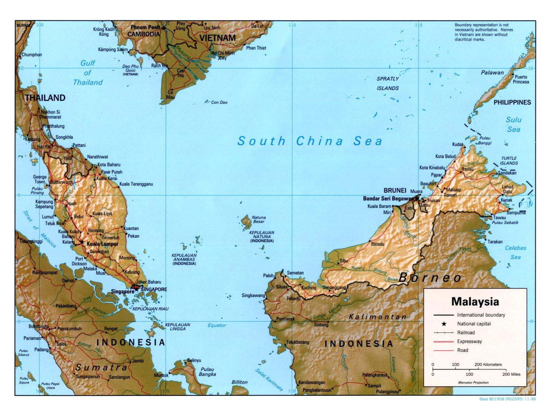 Malaysia Maps ecoinet