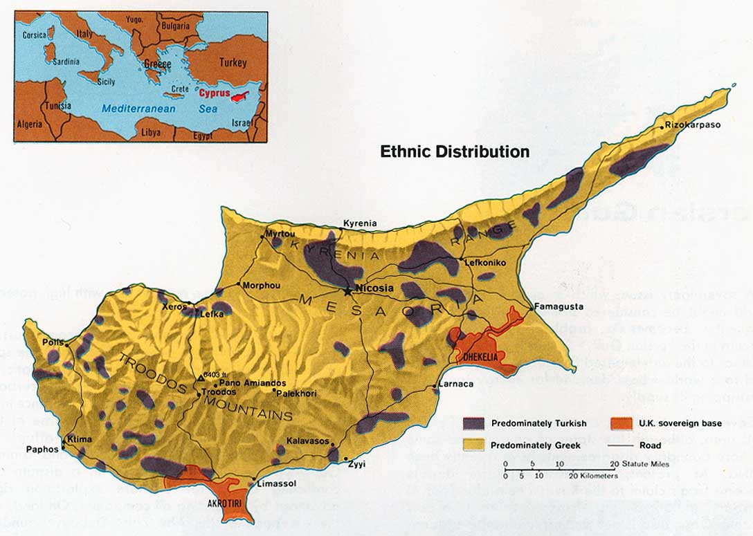 cyprus ethnic distribution 1973