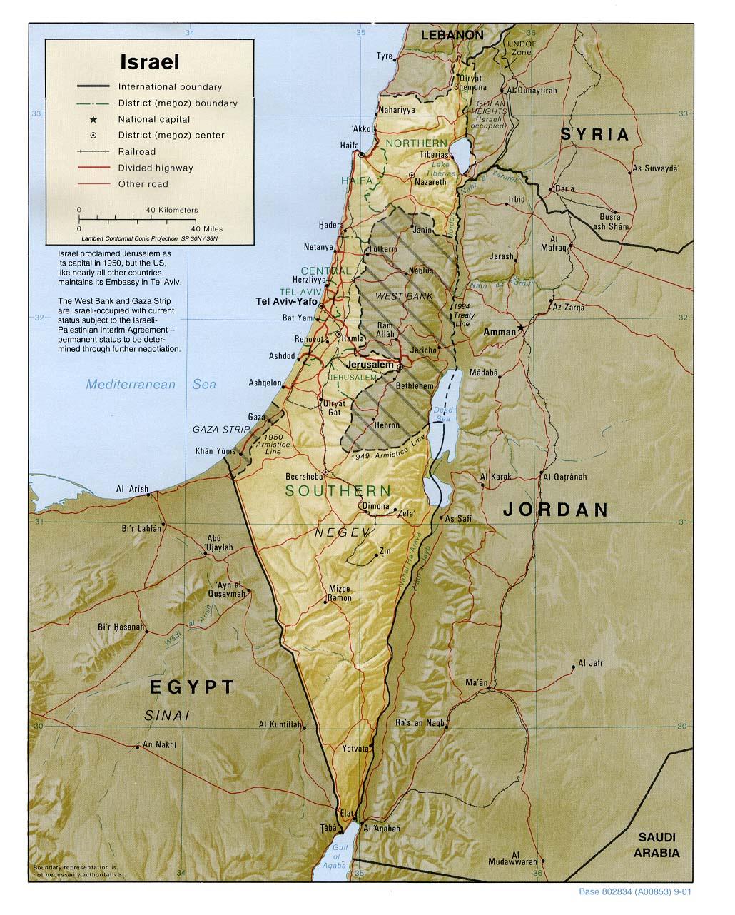 Israel Landkarten Ecoi Net
