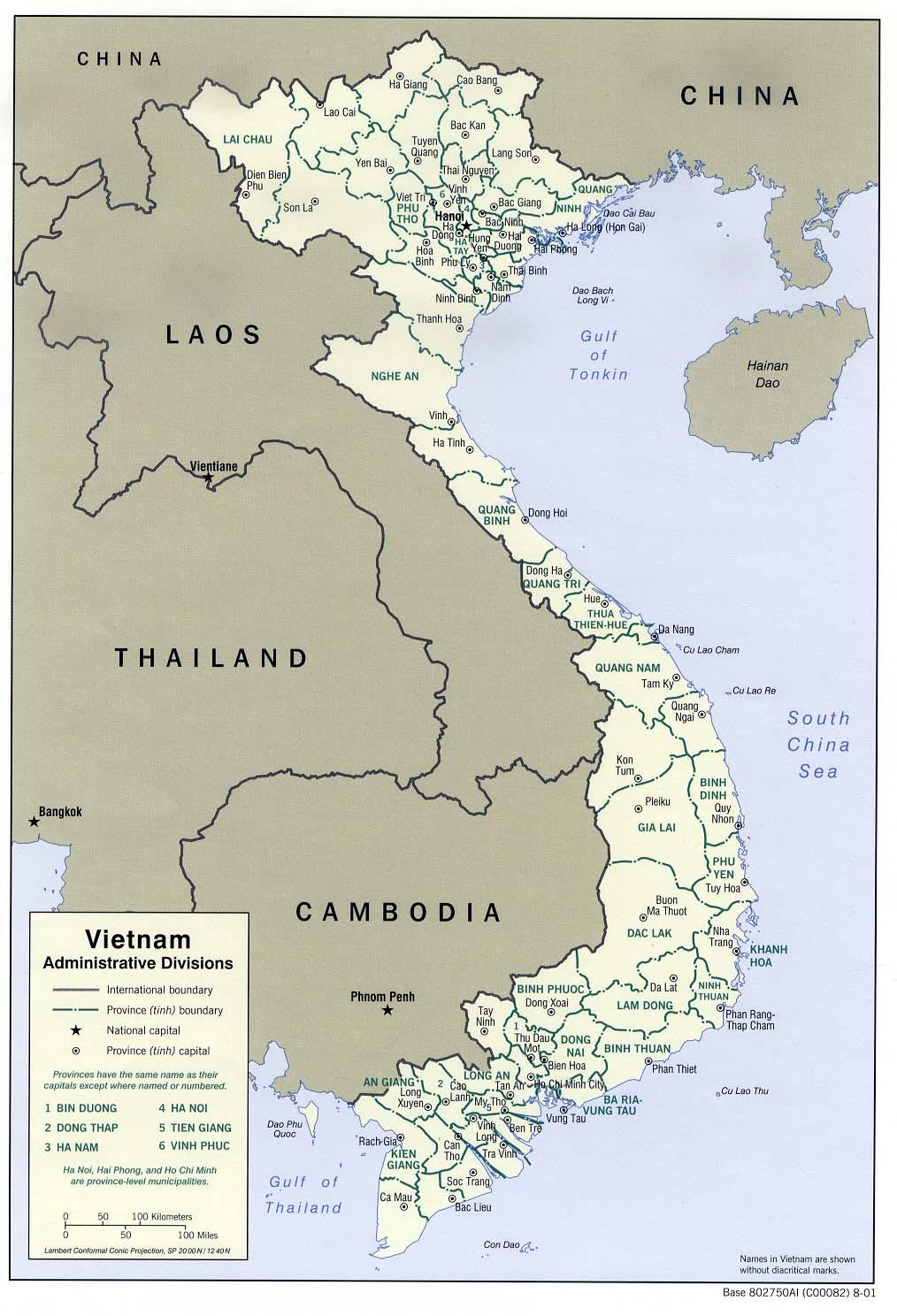 Viet Nam - Maps - ecoi.net