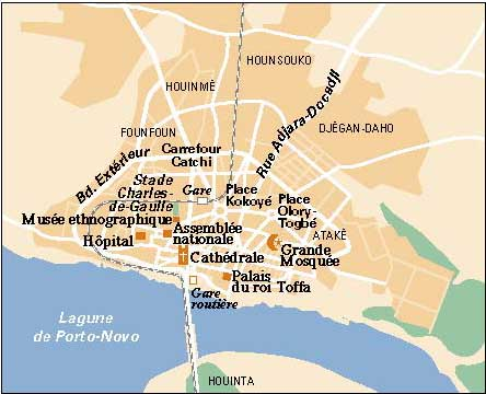 Porto-Novo Map | Maps Porto-Novo Map