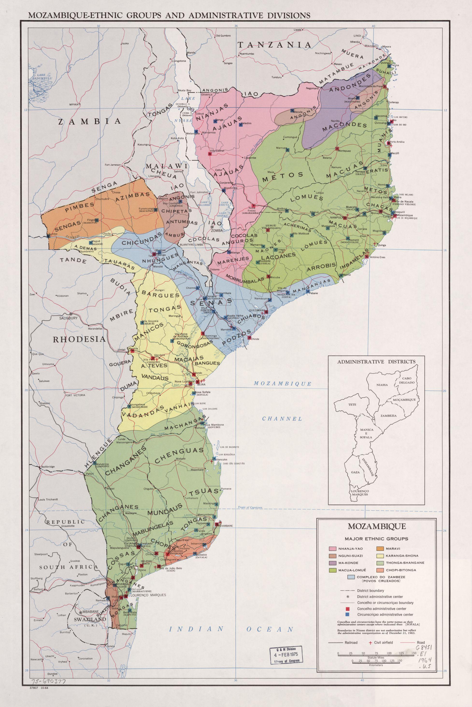 Mozambique Maps ecoinet