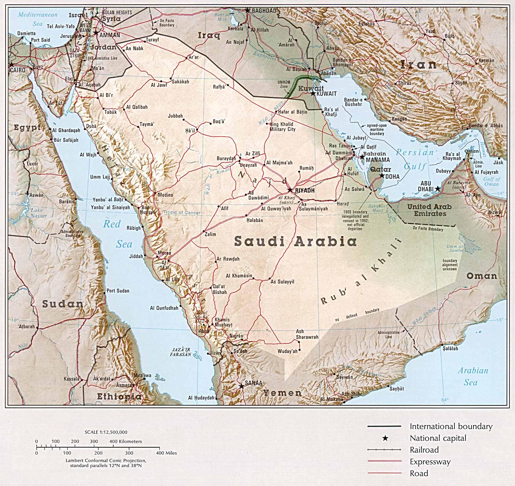 Saudi Arabia Maps Ecoi Net
