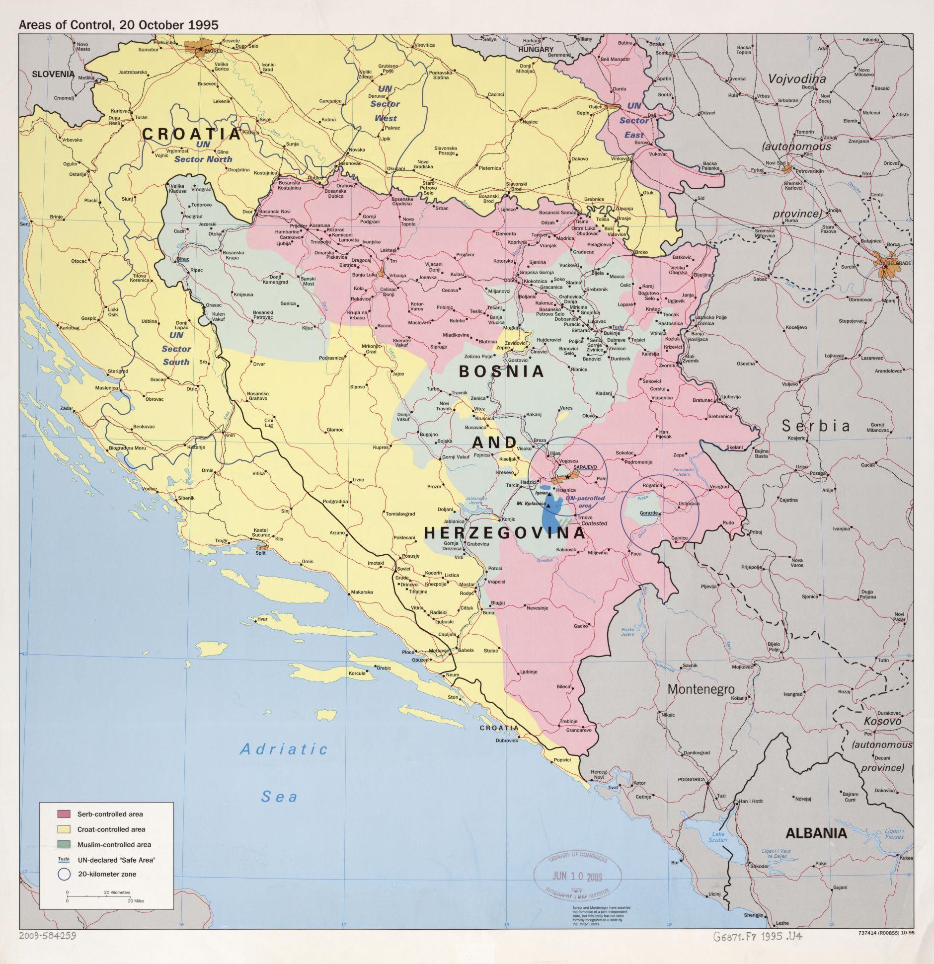 Landkarte Von Bosnien Herzegowina Weltatlas Online De