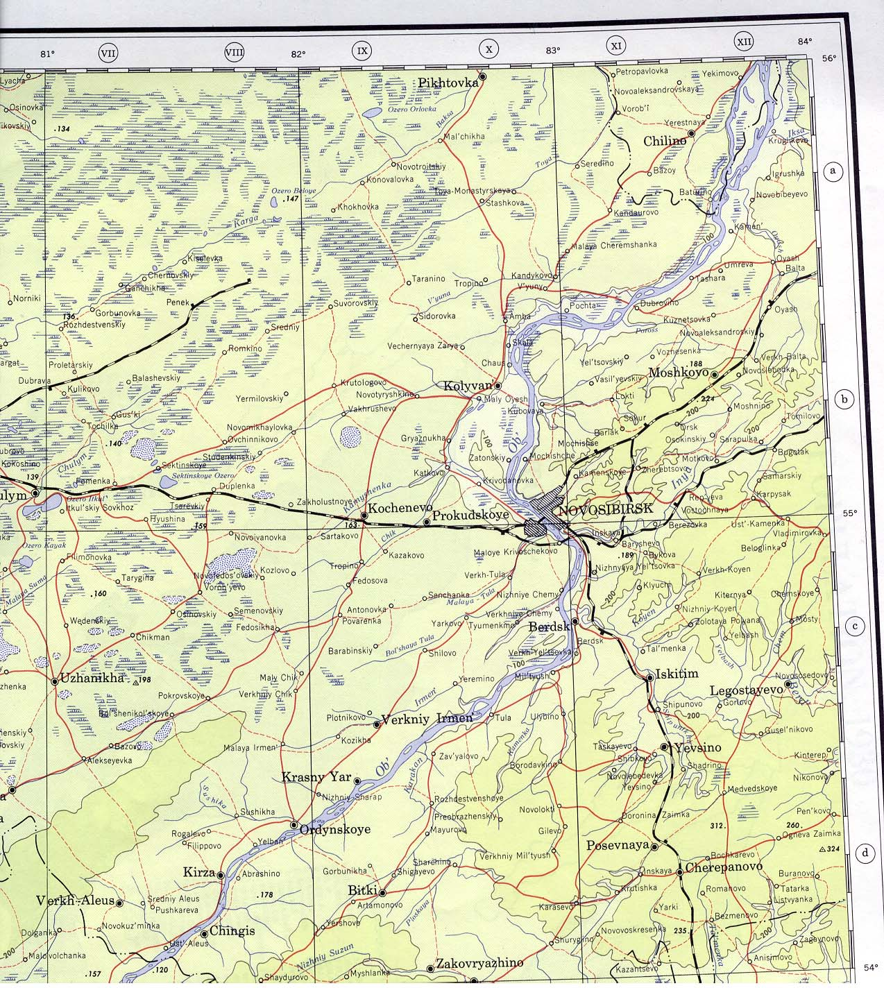 Us Army Map Service Author Published By University Of Texas - Us-army-topographic-maps