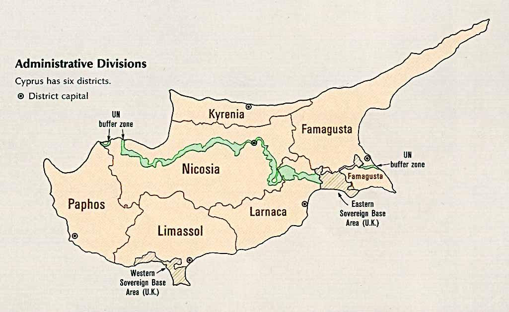 Cyprus Maps ecoinet