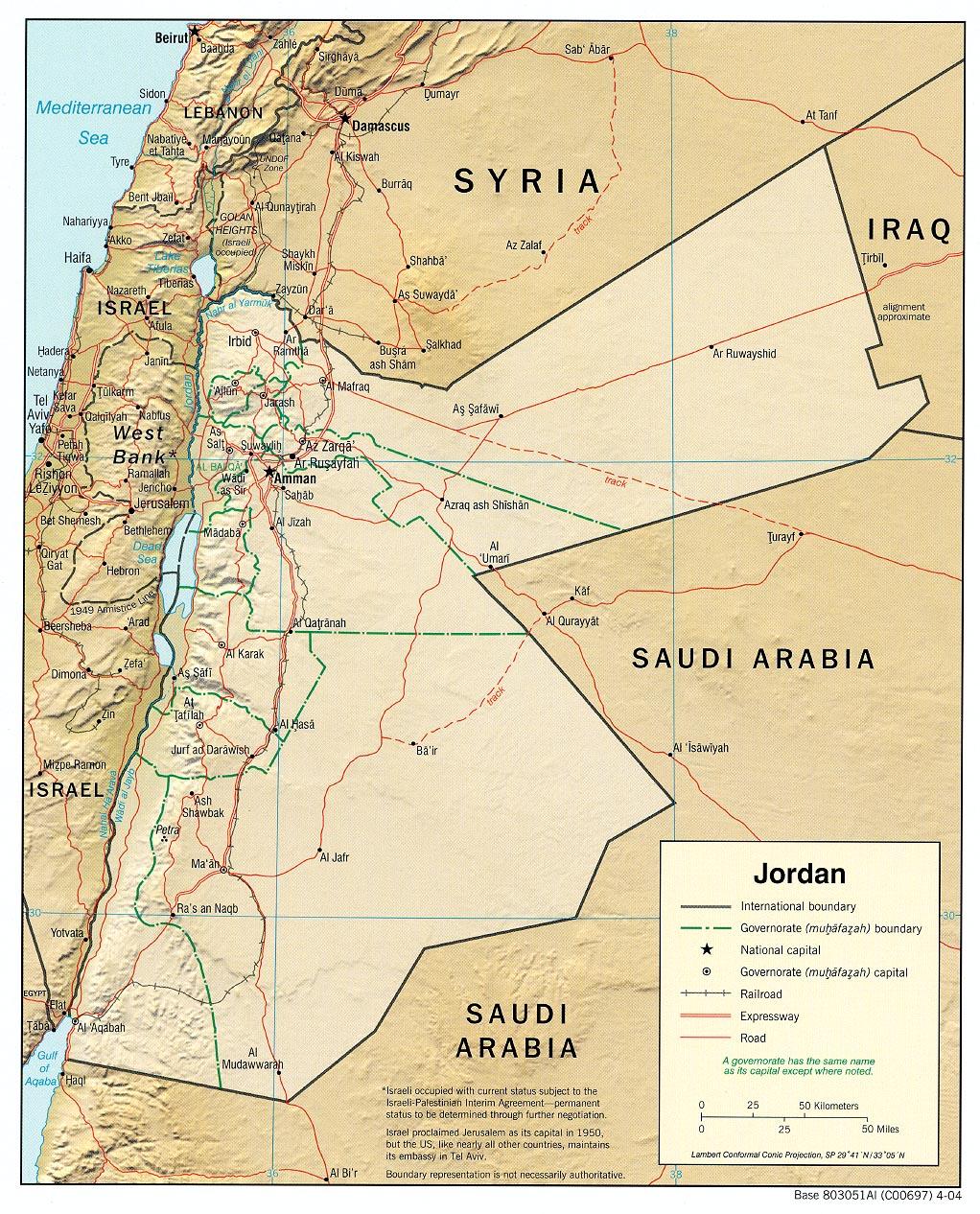 Picture of: Jordan Maps Ecoi Net