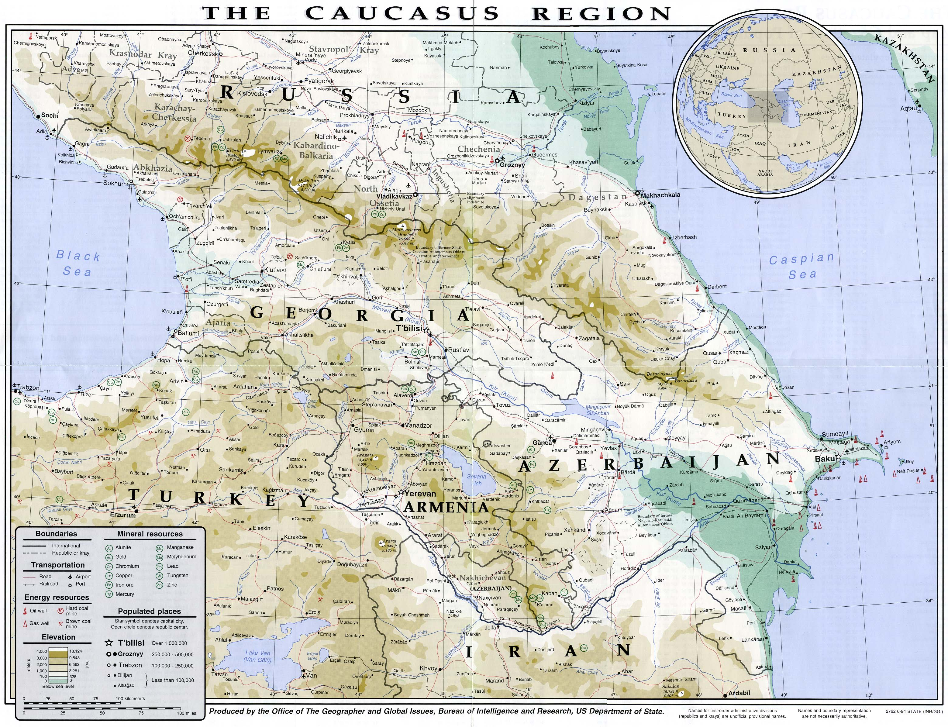 Armenia Maps ecoinet