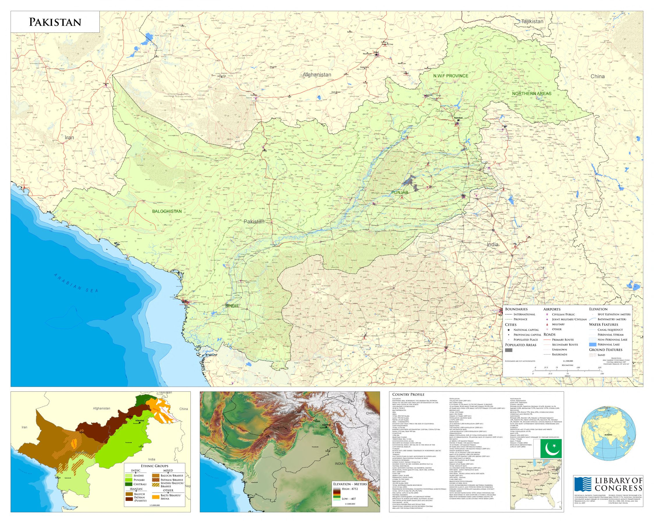 Pakistan Maps ecoinet