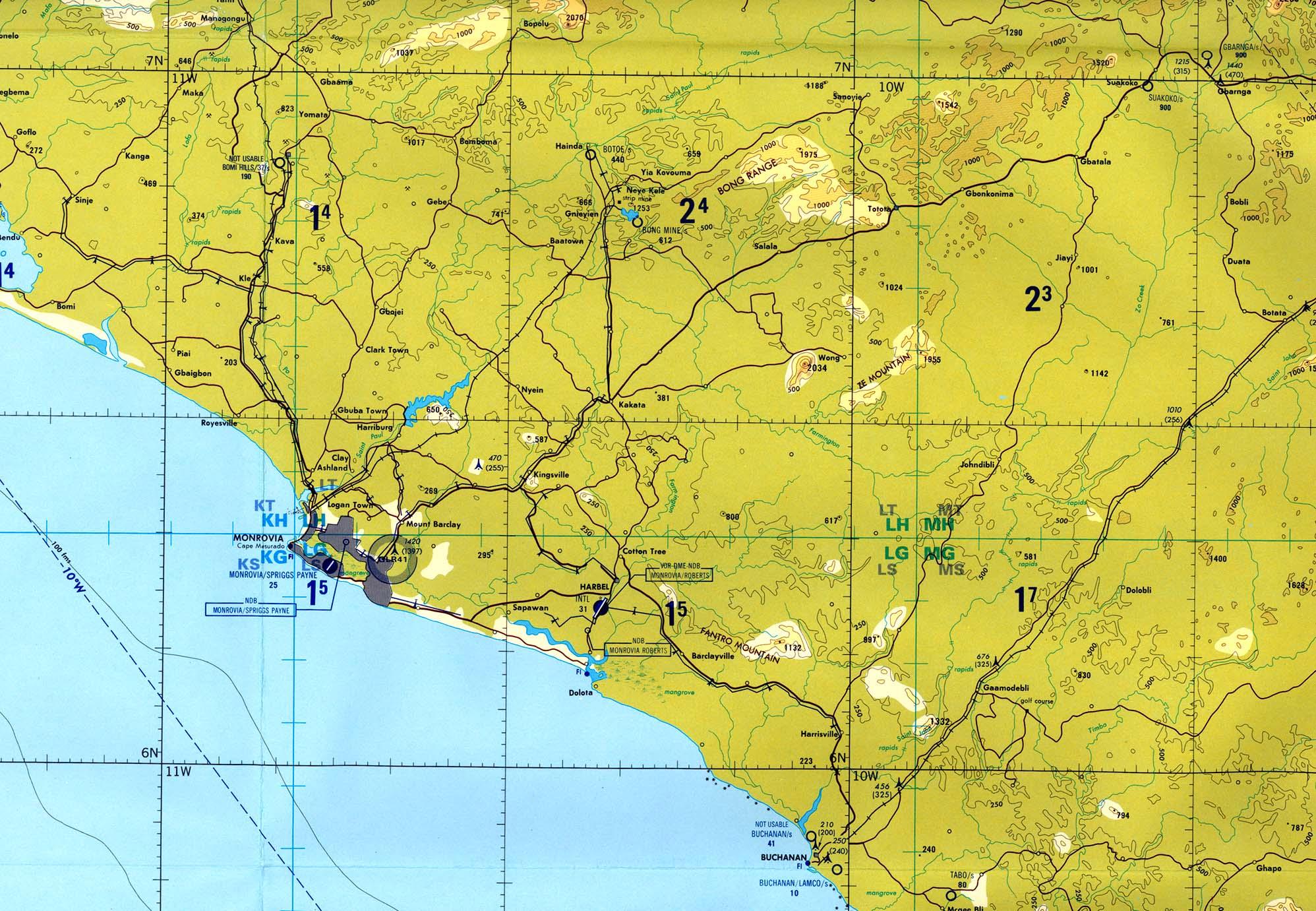 Liberia - Maps - ecoi.net