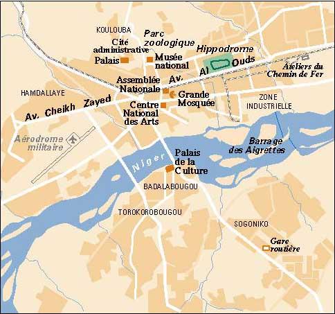 Mali - Maps - ecoi.net