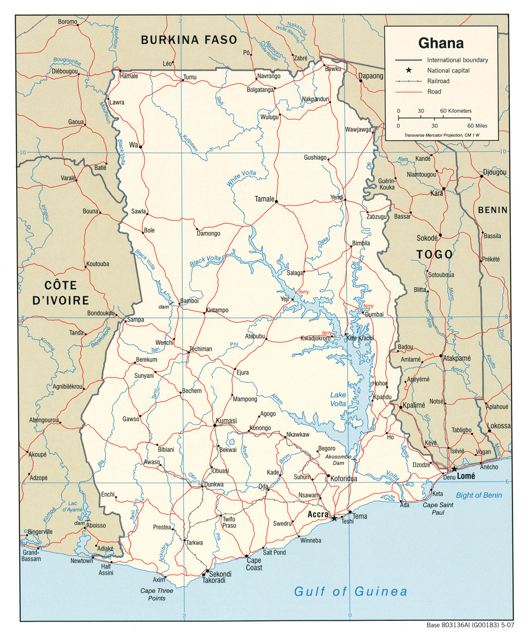 Ghana - Maps - ecoi.net