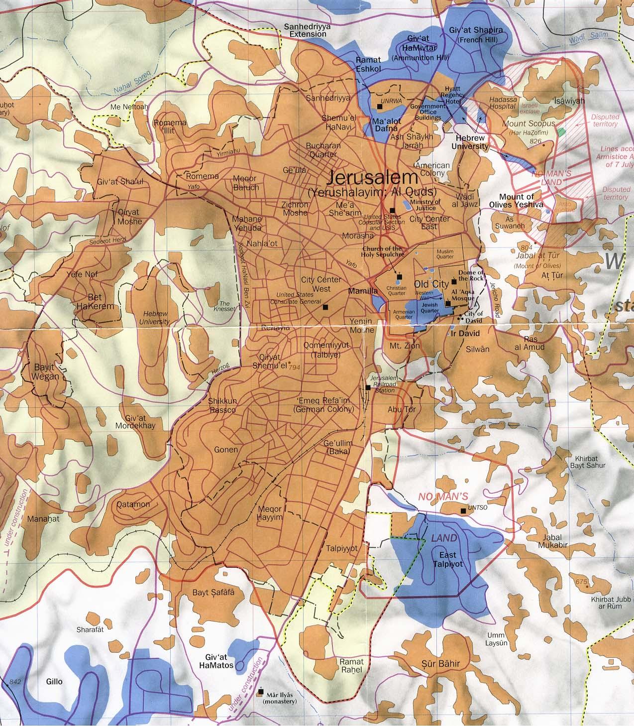 Israel Maps ecoinet