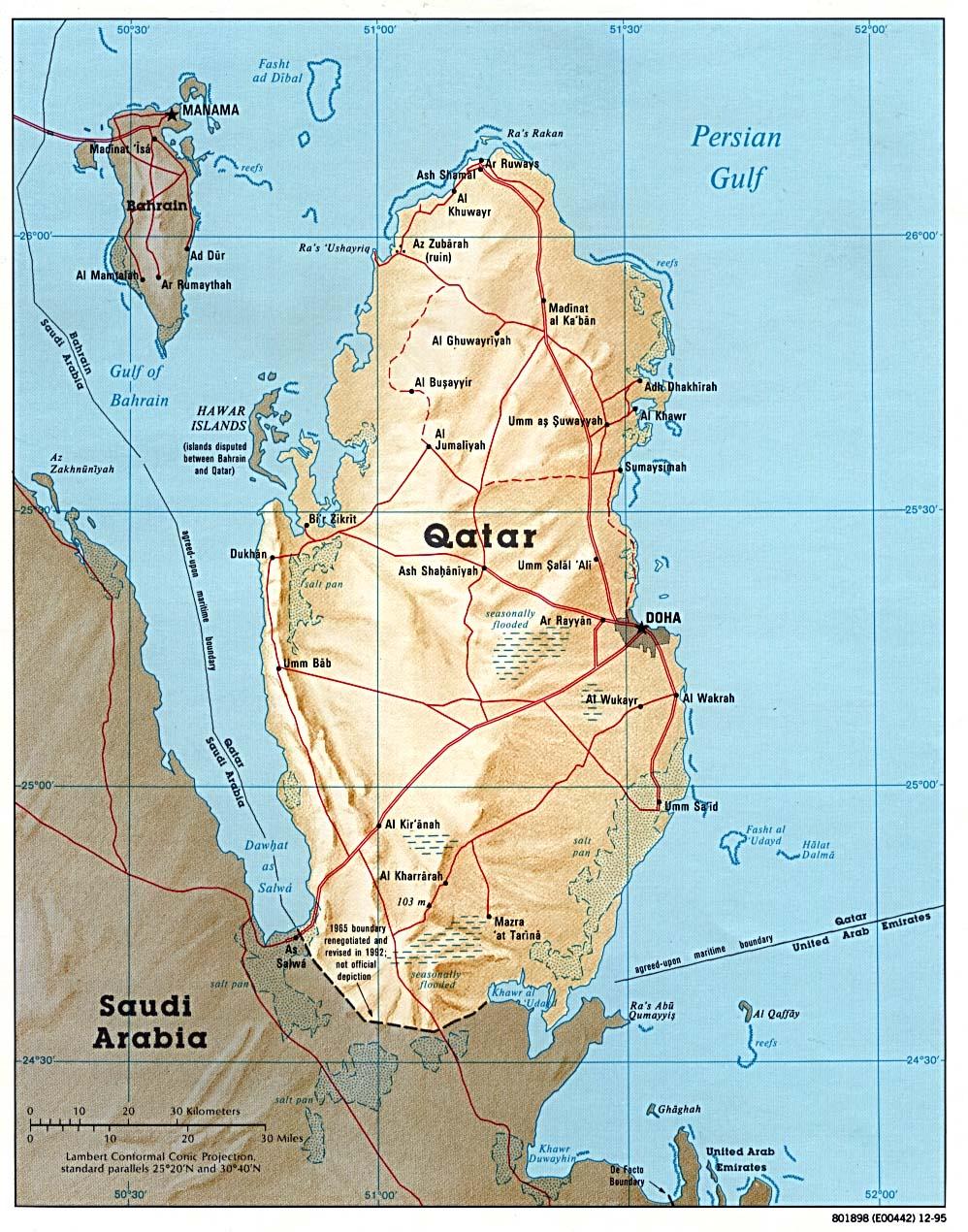 Qatar Maps ecoinet