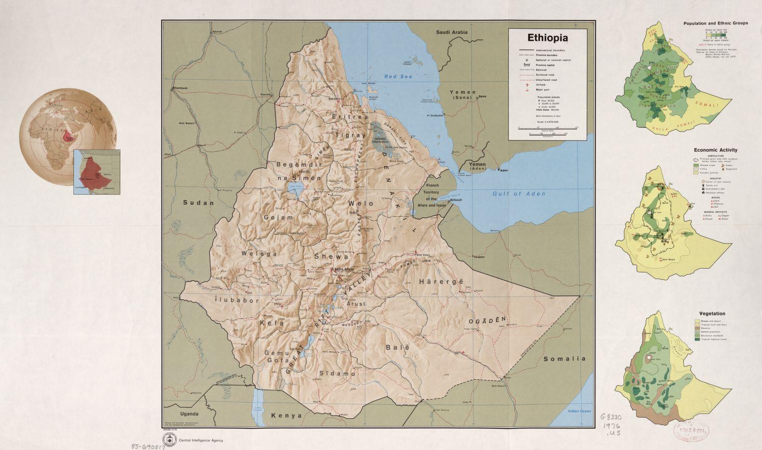 Ethiopia - Maps - ecoi.net
