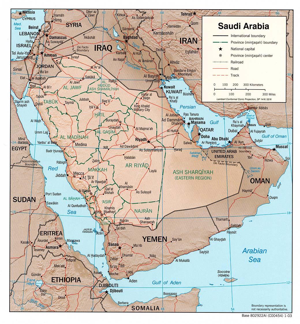 Saudi Arabia - Maps - ecoi.net