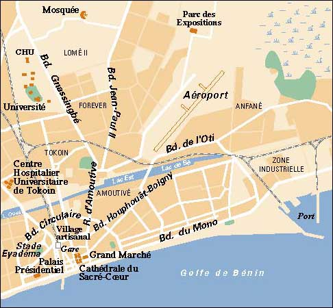 Lome Map | Maps Lome Map