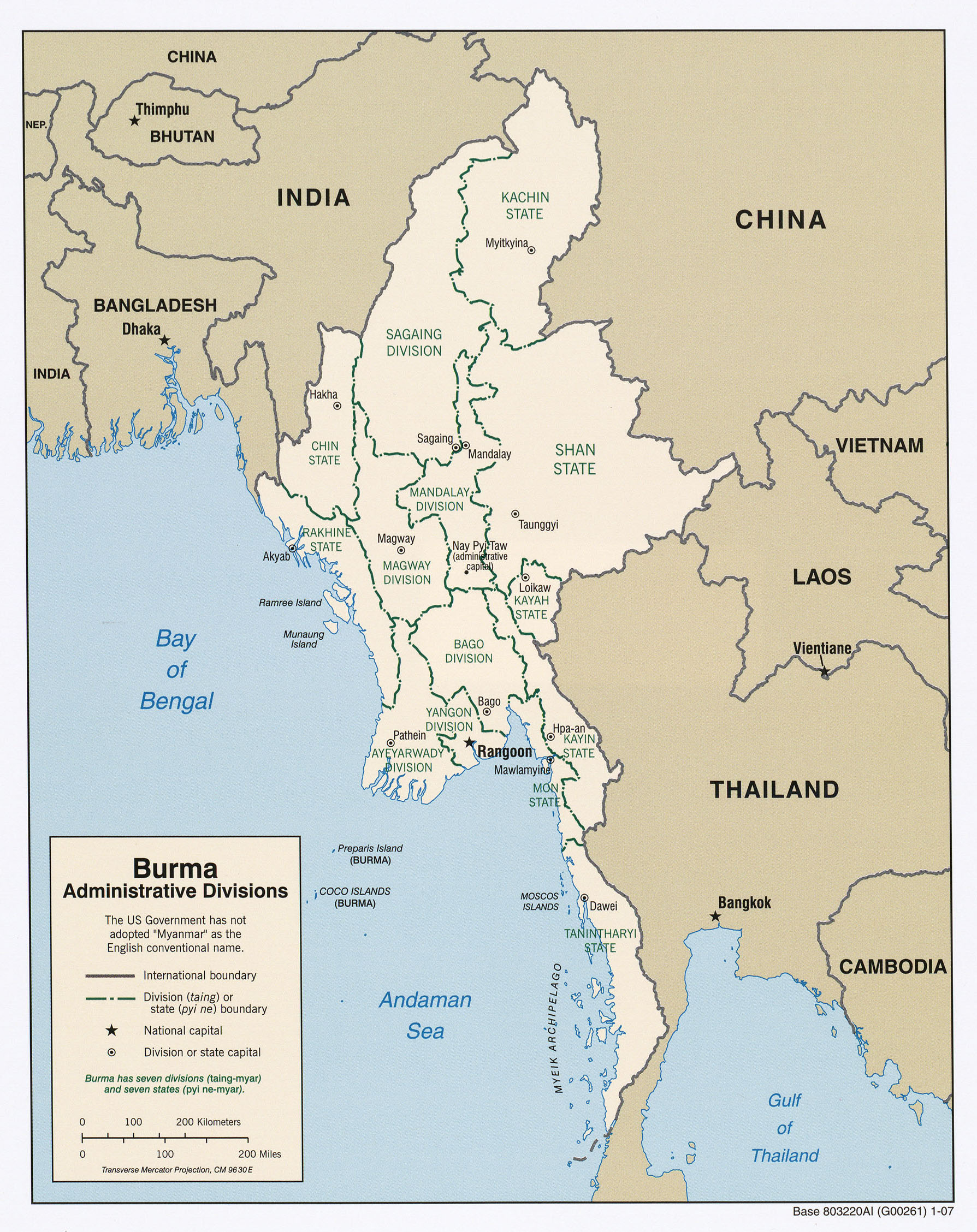 Myanmar Maps Ecoi Net Map Administrative Divisions Gambar Peta Se
