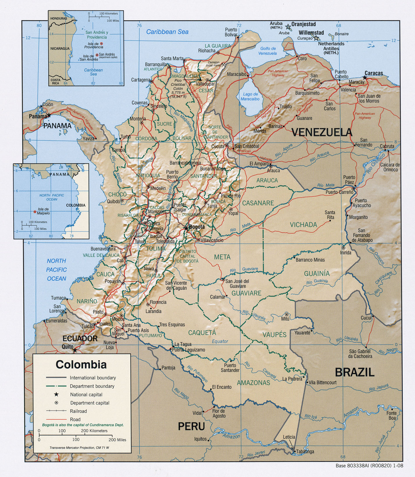 Colombia Maps ecoinet