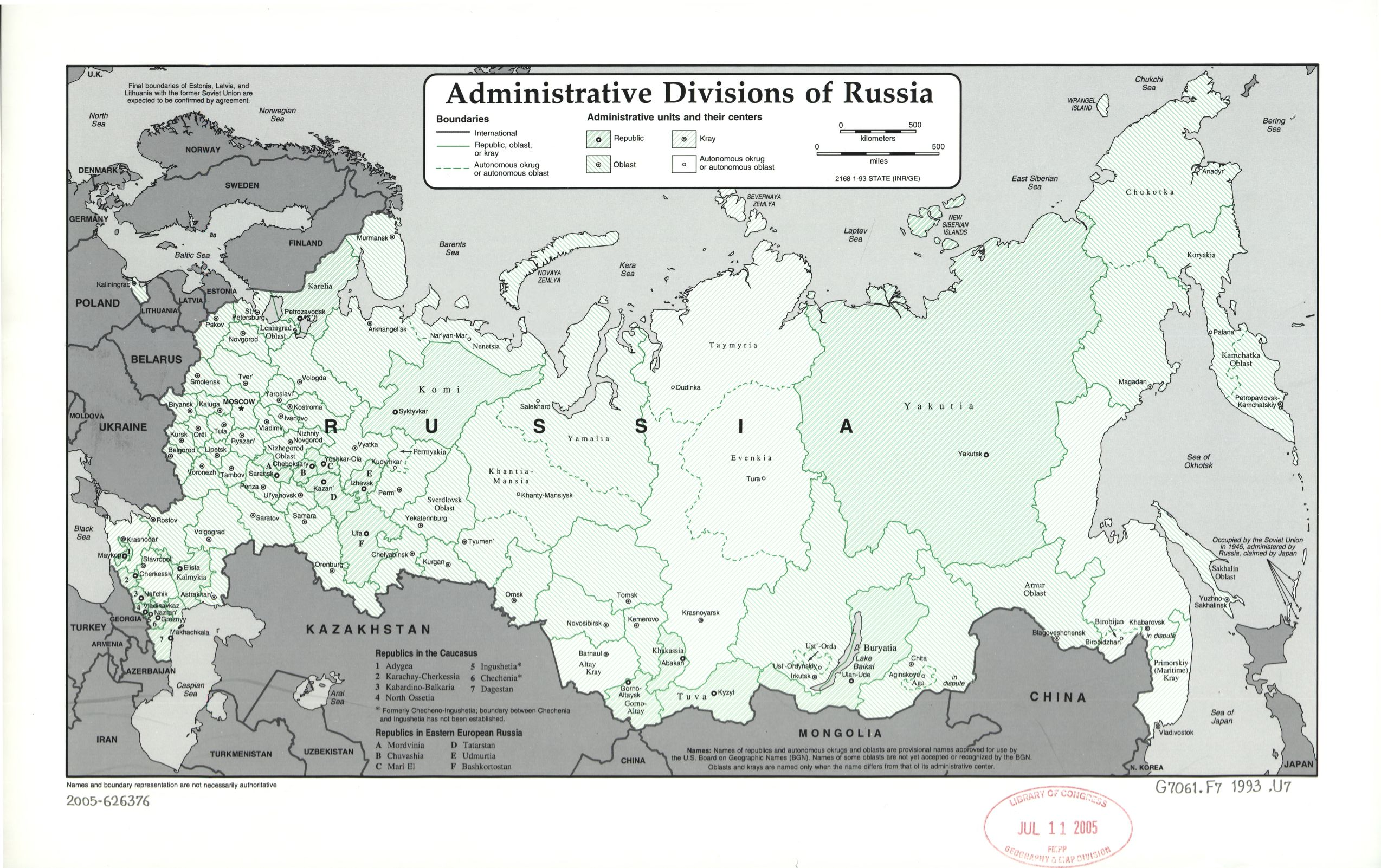 Russian Federation Customs, Currency & Airport Tax regulations summary