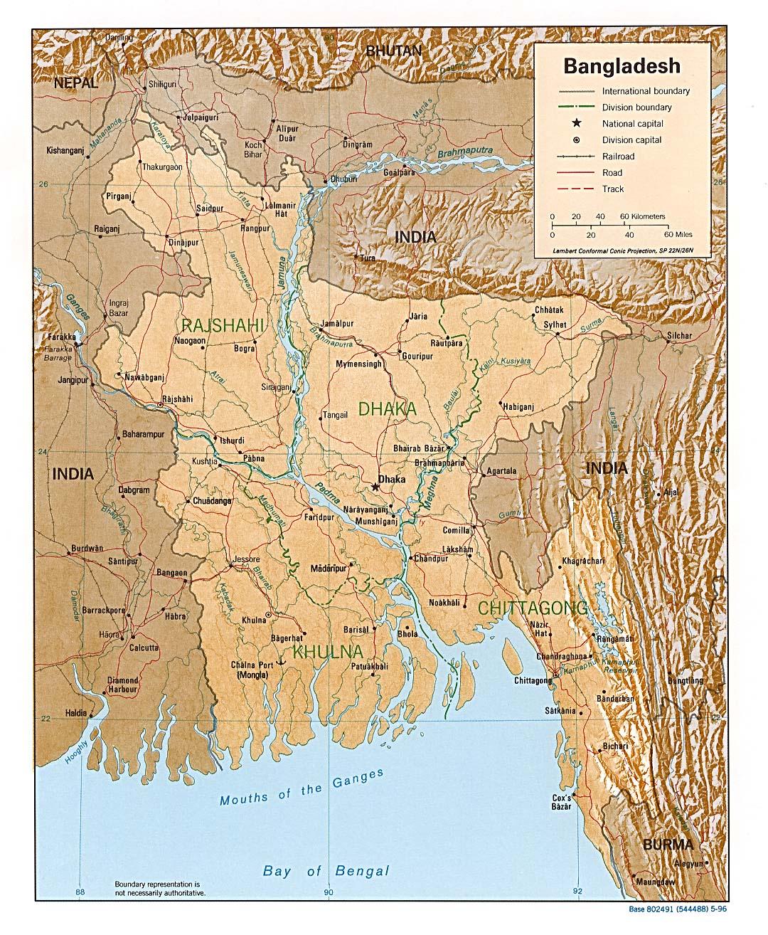 Bangladesh Maps Ecoi Net