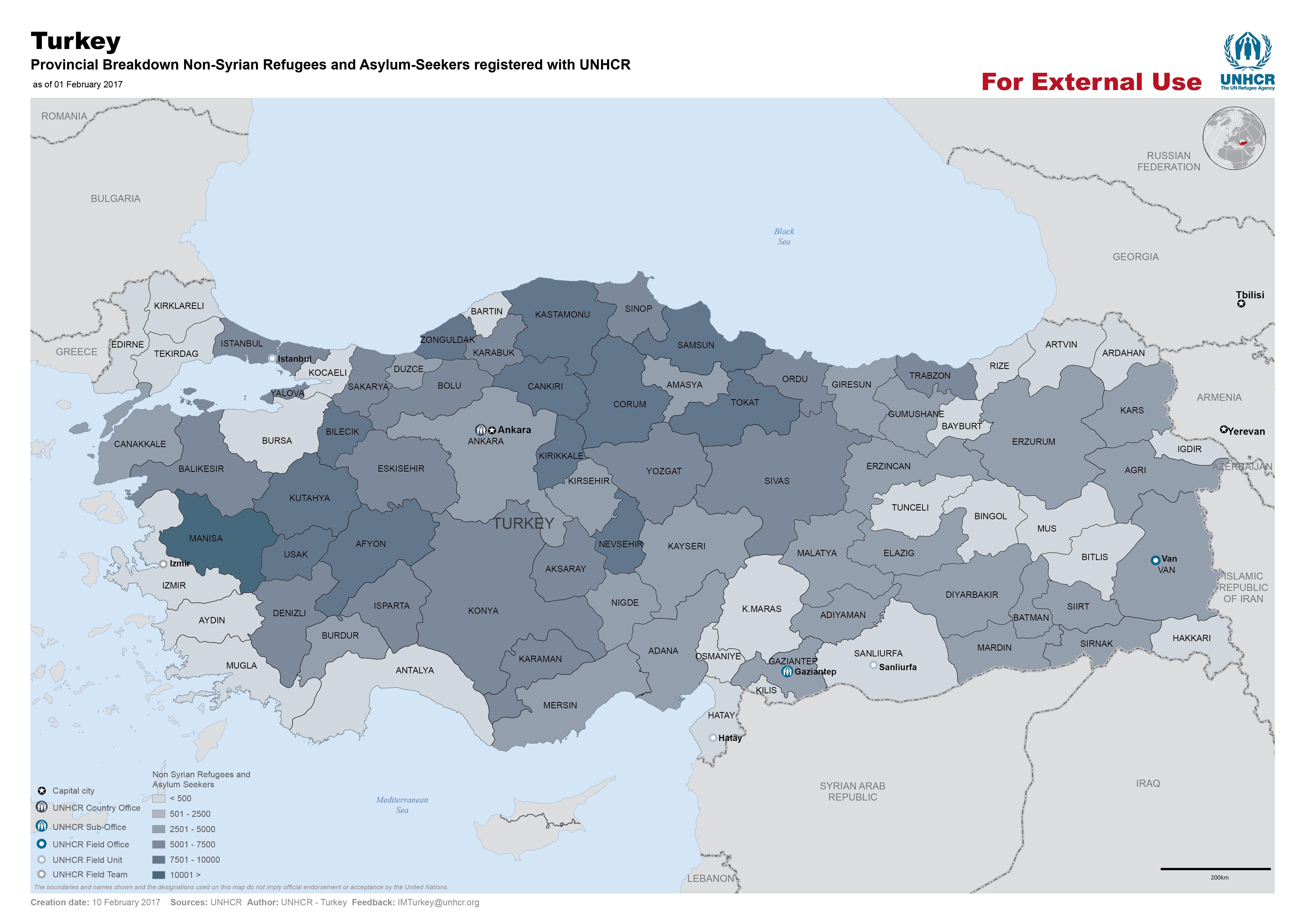 Turkey - Maps - ecoi.net