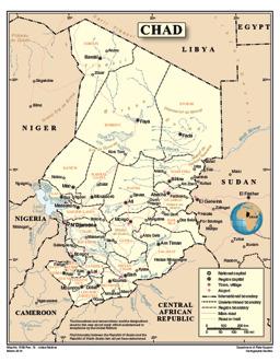 Tschad - Landkarten - ecoi.net