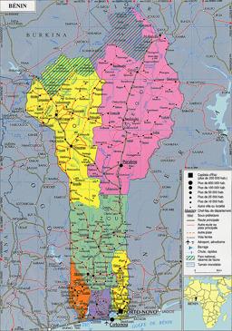 Benin - Maps - ecoi.net