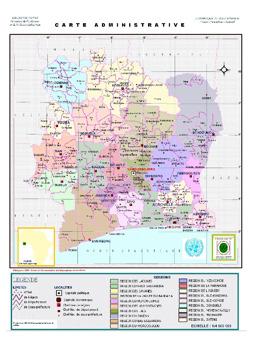 Cte dIvoire Maps ecoinet