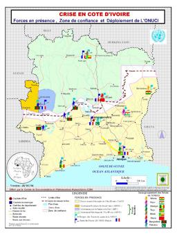 Côte d\'Ivoire - Maps - ecoi.net