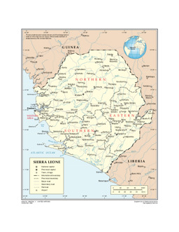 Sierra leone maps ecoi 01417srlpdf associated with general maps gumiabroncs Gallery