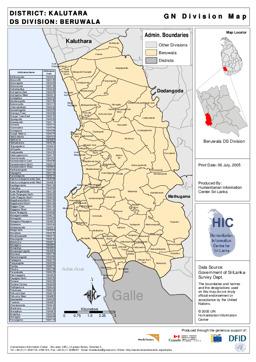 Sri Lanka Maps ecoinet