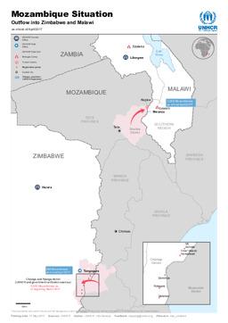 Mosambik Karte.Mosambik Landkarten Ecoi Net